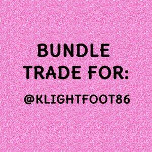 Bundle for @klightfoot86